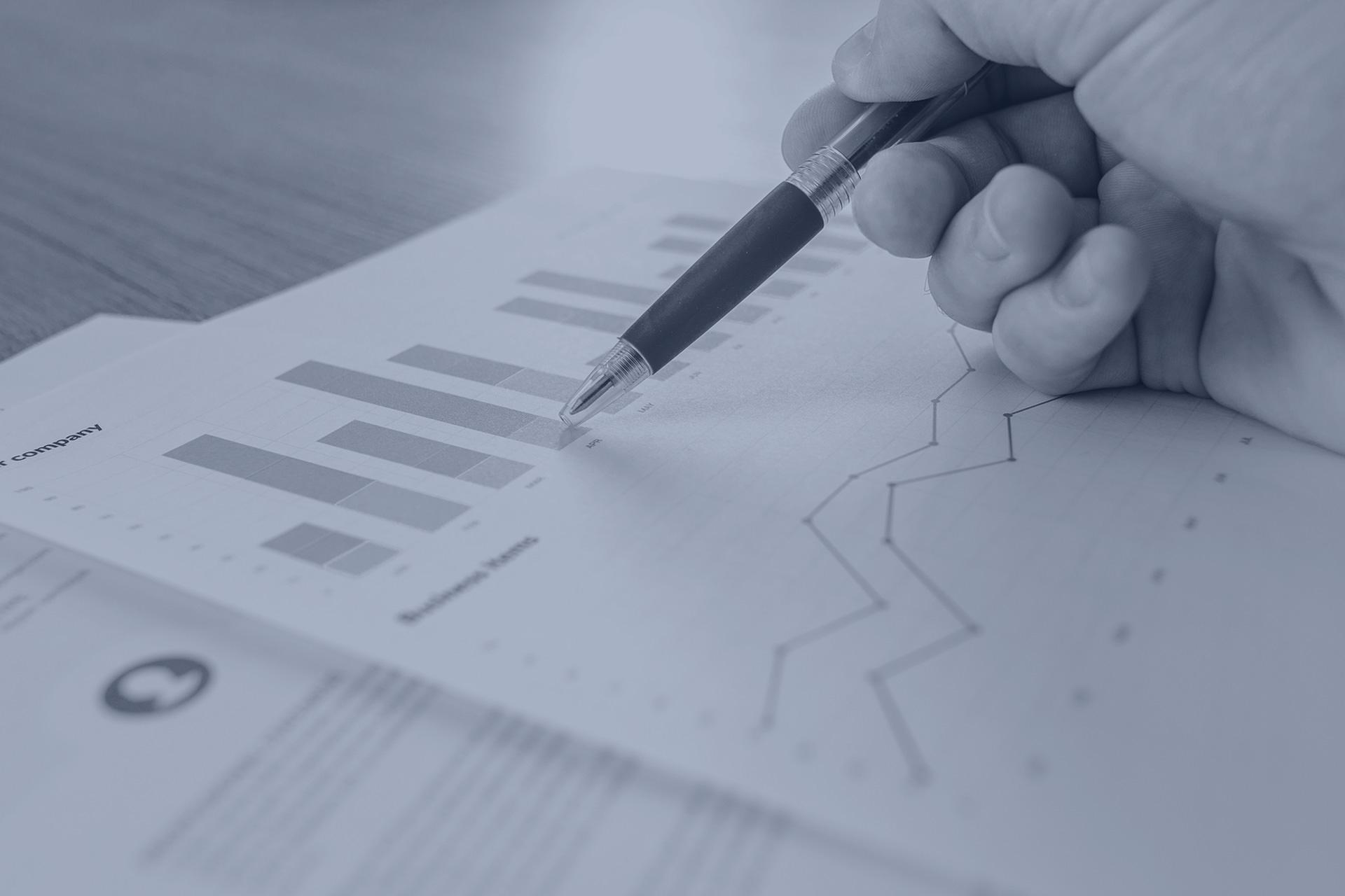 gráficos financiación de empresas